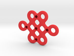 Mystic Knot - Really Large in Red Processed Versatile Plastic