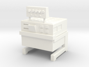 Lost in Space Equipment - Laundry Unit in White Processed Versatile Plastic