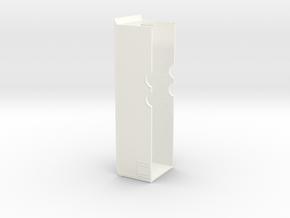 28' Bumper Pull Race Trailer - Greenlight Hitch in White Processed Versatile Plastic
