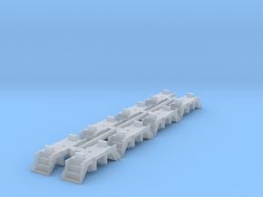 N Scale BLI repl. steps w/ short integral mount in Smoothest Fine Detail Plastic