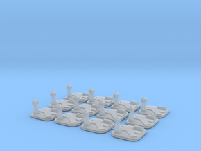 12 airbases in Smooth Fine Detail Plastic