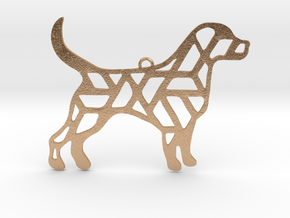 Year Of The Dog Charm in Natural Bronze