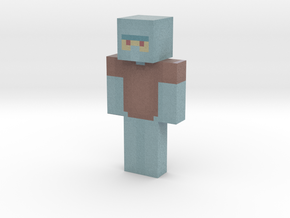 Pierrot | Minecraft toy in Natural Full Color Sandstone