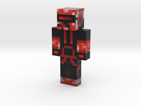 Skelebro6 | Minecraft toy in Natural Full Color Sandstone