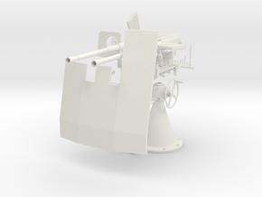 1/5 DKM Double 20mm C/30 Flak w. Shield KIT in White Natural Versatile Plastic