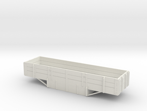 a-1-48-wagon-e-class-1a in White Natural Versatile Plastic