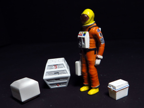 SPACE 2999 1/48 ASTRONAUT TWO SET in Smooth Fine Detail Plastic