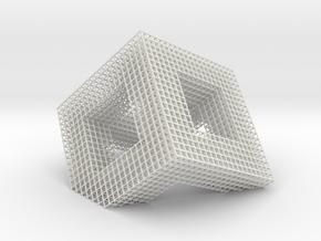 Temple 2020 Portal - Donation rewards - Scale Mode in White Natural Versatile Plastic: Small