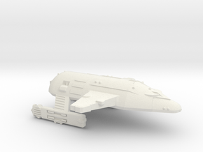 3788 Scale WYN Tigershark Heavy Battlecruiser CVN in White Natural Versatile Plastic