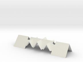 Chirk SB 3 - Roof in White Natural Versatile Plastic