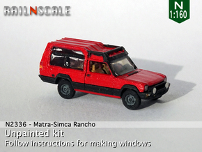 Matra Rancho (N 1:160) in Smooth Fine Detail Plastic