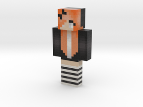 KwonShiYun | Minecraft toy in Natural Full Color Sandstone