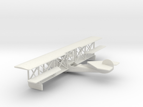 1/72 Scale Curtiss Model F USA 1913 in White Natural Versatile Plastic