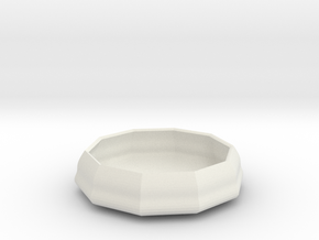 sauce bowl in White Natural Versatile Plastic