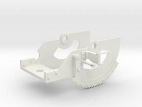 1/5 DKM 3.7cm Flak M42 Single Mount (Cradle) in White Natural Versatile Plastic