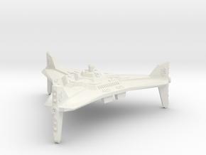 Omni Scale Orion Battle Station CVN in White Natural Versatile Plastic