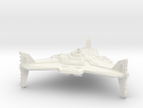 Omni Scale Orion Augmented Battle Station CVN in White Natural Versatile Plastic