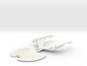 USS Akyazi in White Natural Versatile Plastic