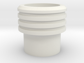 SK-CrystalHolder in White Natural Versatile Plastic