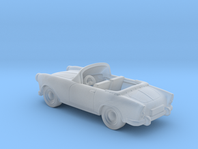 Simca Aronde Cabriolet MR 42 1: 120 TT in Smooth Fine Detail Plastic
