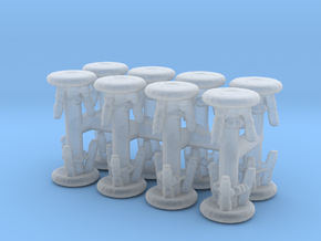 Stool (x16) 1/200 in Smooth Fine Detail Plastic