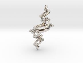 Julia Pendant in Platinum
