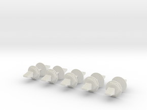 LM Switch 2 Neutral-10 Pack in White Natural Versatile Plastic