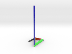 3D Distance of a Vector Visual in Glossy Full Color Sandstone