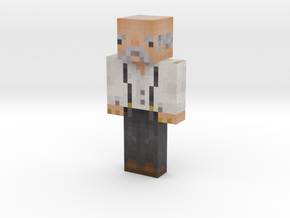 Old_Man_1 | Minecraft toy in Natural Full Color Sandstone