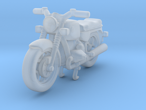Classic Motorcycle 1:120 TT in Smooth Fine Detail Plastic