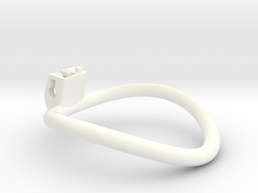 Cherry Keeper Ring - 70mm -10° in White Processed Versatile Plastic