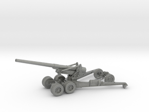 1/48 US 155mm Long Tom Cannon Open Fire Position in Gray PA12