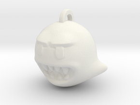 Video Game Ghost in White Natural Versatile Plastic