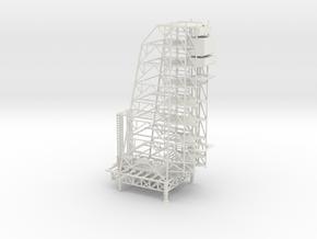 1/500 Scale Apollo Arming Tower in White Natural Versatile Plastic