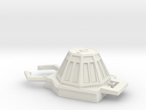 Six Million Dollar Man Venus Space Probe in White Natural Versatile Plastic