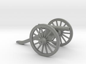 1/35 scale M1857 model 12 pounder gun test in Gray PA12