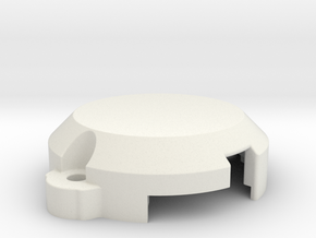 QD monster motor cover in White Natural Versatile Plastic