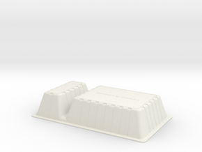 Netflix and Chill Snack Dish in White Natural Versatile Plastic: Extra Small