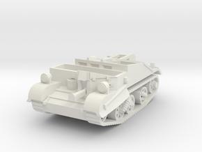 Bren Carrier no2 Mk1 1/56 in White Natural Versatile Plastic