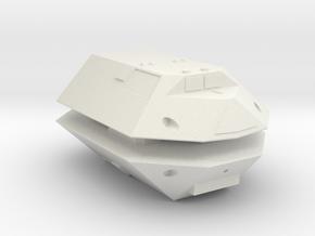 3788 Scale Jindarian Frigates (2) SRZ in White Natural Versatile Plastic