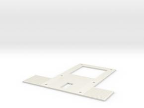 1/14 Tamiya Actros Beier SFR1 electronics carrier  in White Natural Versatile Plastic