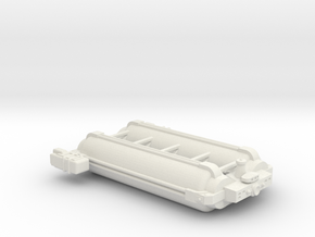 Omni Scale General Large Armed Freighter SRZ in White Natural Versatile Plastic