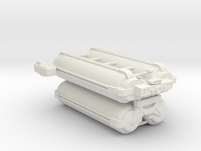 Omni Scale General Heavy Armed Freighter SRZ in White Natural Versatile Plastic