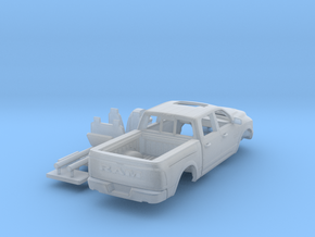 Dodge Ram 1-87 HO Scale in Smooth Fine Detail Plastic
