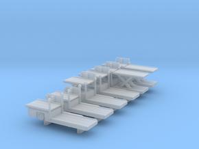 1:400 High Loader Set 6pc in Smooth Fine Detail Plastic