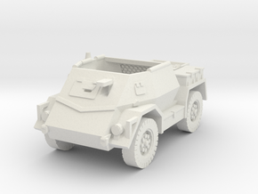 Pattern Wheeled Carrier Mk2 1/76 in White Natural Versatile Plastic