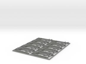 Kupplungsattrapen für Bemo Spur 0m Modelle in Gray PA12