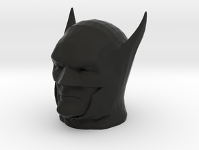 Batman Year One head in Black Natural Versatile Plastic
