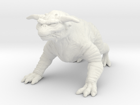 Ghostbusters 1/8 Terror Dog zuul gozer large model in White Natural Versatile Plastic