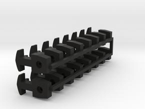 A-Coupling x16 in Black Premium Versatile Plastic